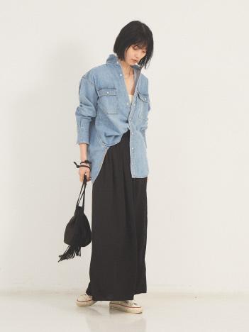 【REMI RELIEF/別注】ウエスタンシャツ