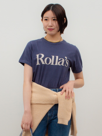 THE STORE by C' - 【ROLLA'S】Decor Logo Tシャツ