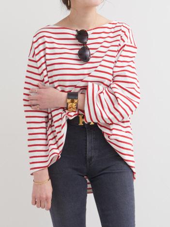 THE STORE by C' - 【Couture d'Adam】オーバーサイズバスクシャツ