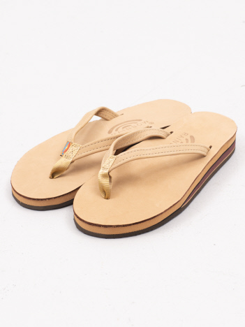 THE STORE by C' - 【RAINBOW SANDALS】ダブルレイヤーレザーサンダル