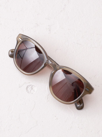 【OLIVER PEOPLES】ボストングラス(PINK)
