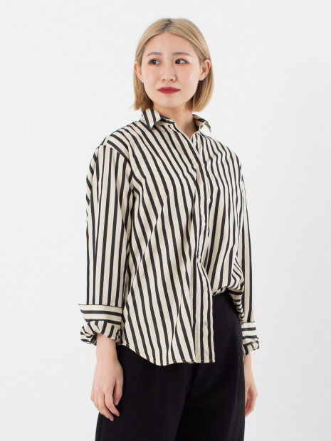 【TOTEME】CAPRI STRIPEシャツ