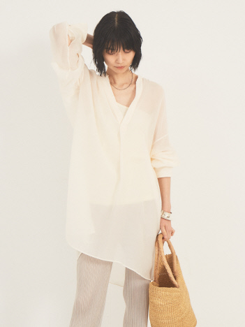 THE STORE by C' - 【COCUCA】シフォンブラウス