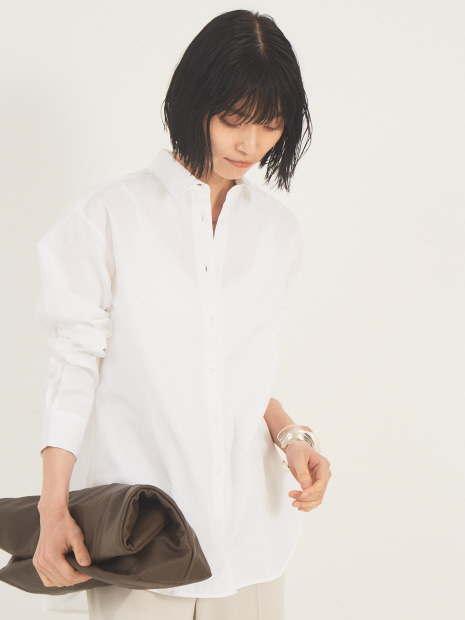 【TOTEME】シグネチャーコットンシャツ