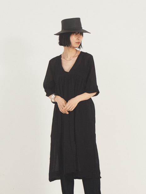 【SUNDAY atelier】PAROS DRESS