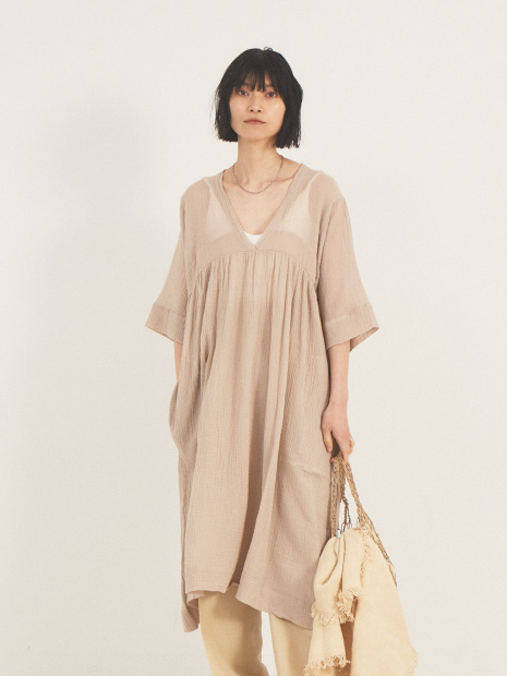 【SUNDAY atelier】PAROS DRESS