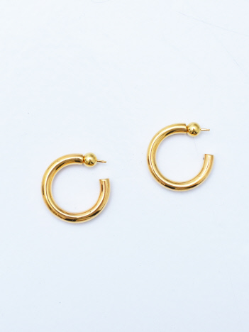 THE STORE by C' - 【SOPHIE BUHAI】Gold Small Everyday Hoops ピアス