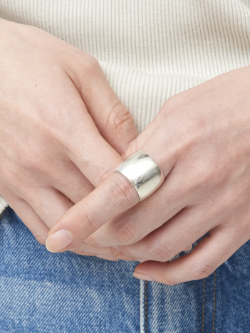 【SOPHIE BUHAI】Wide Cigar Band Ring リング