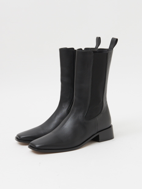 【NEOUS】PROS LEATHER 35MM BOOTS / チェルシーブーツ