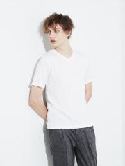【展開店舗限定】杢 半袖 VネックTシャツ