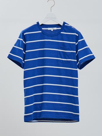 ABAHOUSE - 【展開店舗限定】マリンボーダー 半袖Tシャツ