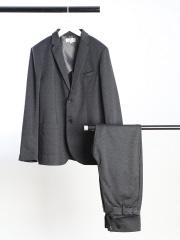 ABAHOUSE - 【セットアップ対応】ウールライクジャージツイルジャケット