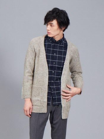 ABAHOUSE - 【展開店舗限定】ブークレー ロングカーディガン