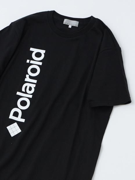 【展開店舗限定】【POLAROID】両面プリントTシャツ