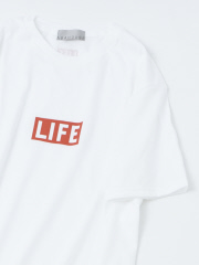 ABAHOUSE - 【展開店舗限定】【LIFE】BOXロゴプリントTシャツ