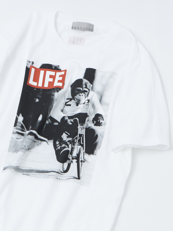 OUTLET (MEN'S) - 【展開店舗限定】【LIFE】monkey プリントTシャツ