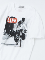 ABAHOUSE - 【展開店舗限定】【LIFE】monkey プリントTシャツ