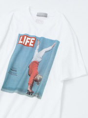 ABAHOUSE - 【展開店舗限定】【LIFE】human プリントTシャツ