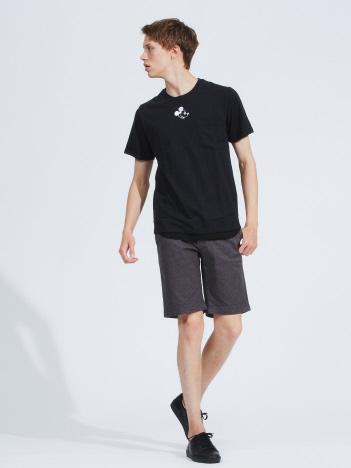 【展開店舗限定】MICKEY ワンポイント 刺繍 ポケットTシャツ