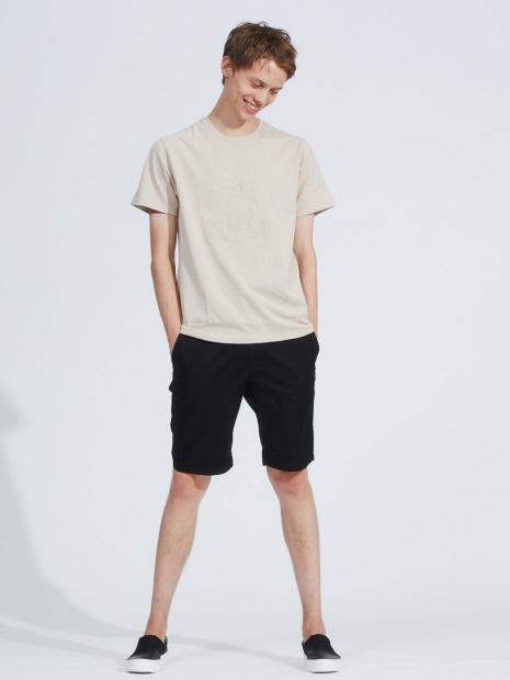 【展開店舗限定】MICKEY ライン アート 刺繍 Tシャツ
