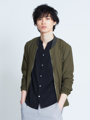 ABAHOUSE - 【展開店舗限定】メッシュジャージブルゾン