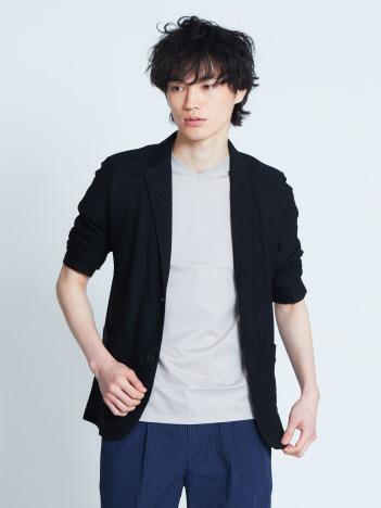 【展開店舗限定】4wayハイストレッチナイロンメッシュジャージジャケット