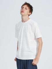ABAHOUSE - 【展開店舗限定】カラーパイルパネルボーダーTシャツ