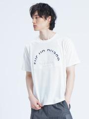 【展開店舗限定】FLENCHE LOGO エンボス半袖Tシャツ