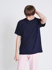 ABAHOUSE - 【店舗展開限定】パイナップル柄 ジャガード半袖Tシャツ