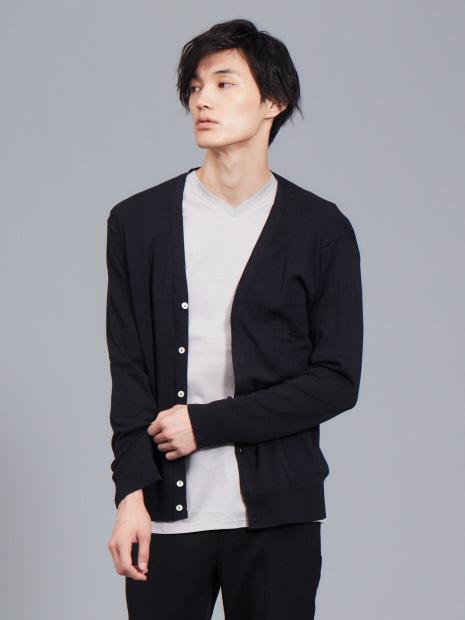 【展開店舗限定】gicipi コットン ソフト カーディガン