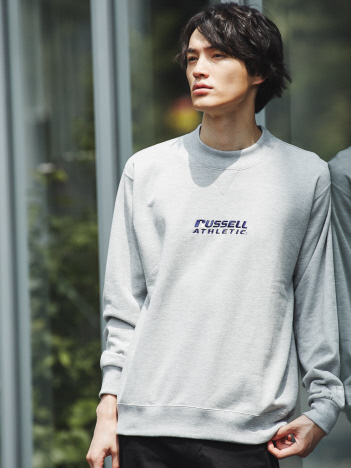 ABAHOUSE - 【別注/展開店舗限定】Russell ラッセル モックネック スウェット