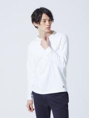 ABAHOUSE - 【展開店舗限定】ott-tricot クルーネックロングTシャツ