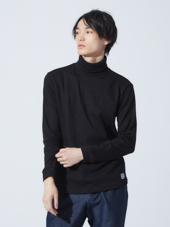ABAHOUSE - 【展開店舗限定】ott-tricot タートルネックロングTシャツ