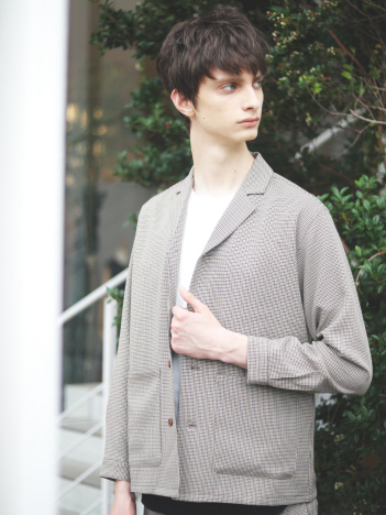 ABAHOUSE - 【展開店舗限定】ナチュラルストレッチ チェックジャケット
