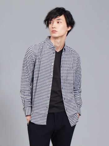 【展開店舗限定】ストレッチオックスボタンダウンシャツ