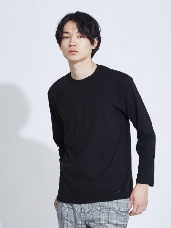 ABAHOUSE - 【展開店舗限定】ストレッチタックフライスロングスリーブTシャツ