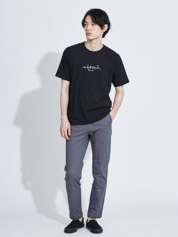 ABAHOUSE - 【展開店舗限定】CityLine刺繍 半袖Tシャツ