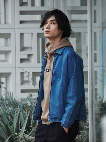 OUTLET (MEN'S) - 【展開店舗限定】デニム ブルゾン