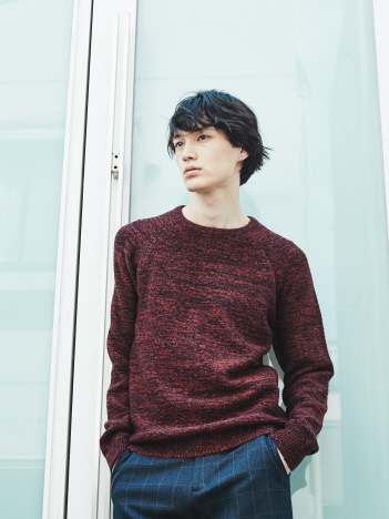 ABAHOUSE - 【展開店舗限定】クルーネック メラン ジニット【予約】