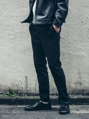 ABAHOUSE - 【展開店舗限定】裏起毛ストレッチツイルライドパンツ