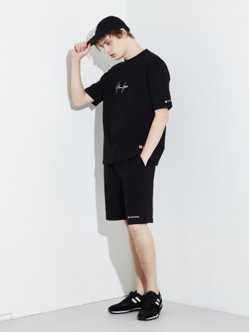 【別注/MYSELF ABAHOUSE】newhattan Tシャツ ショーツ キャップ 3点セット