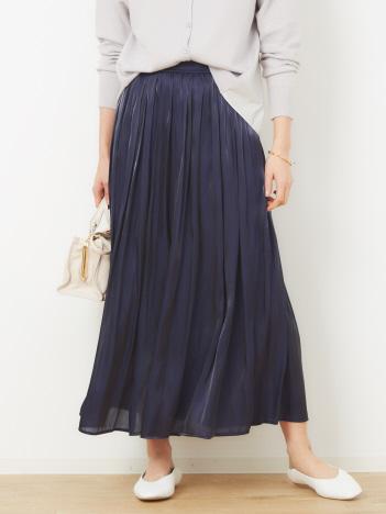 abahouse mavie - シャイニーギャザースカート