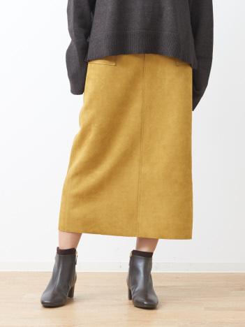 abahouse mavie - スエードタイトロングスカート