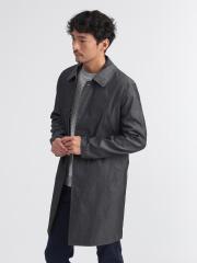 【展開店舗限定】配色 ステンカラー フライ フロント コート