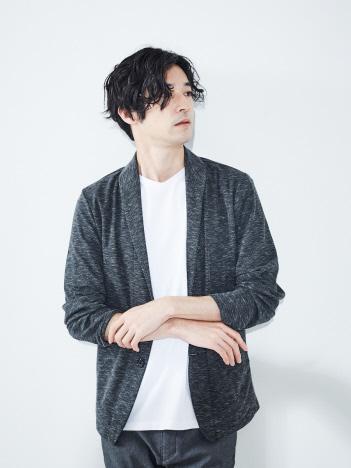 ABAHOUSE GRAY - 【展開店舗限定】バーズアイショールジャケット