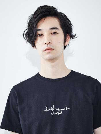 ABAHOUSE GRAY - 【展開店舗限定】CITY刺繍 半袖Tシャツ