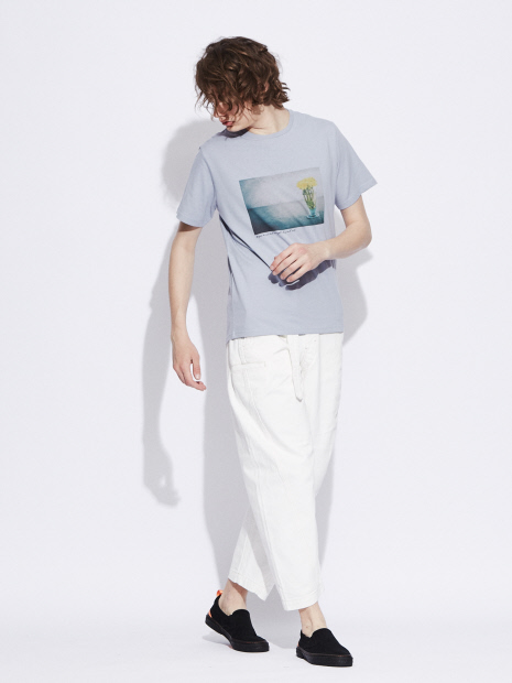【展開店舗限定】Flowerphotoプリント半袖Tシャツ