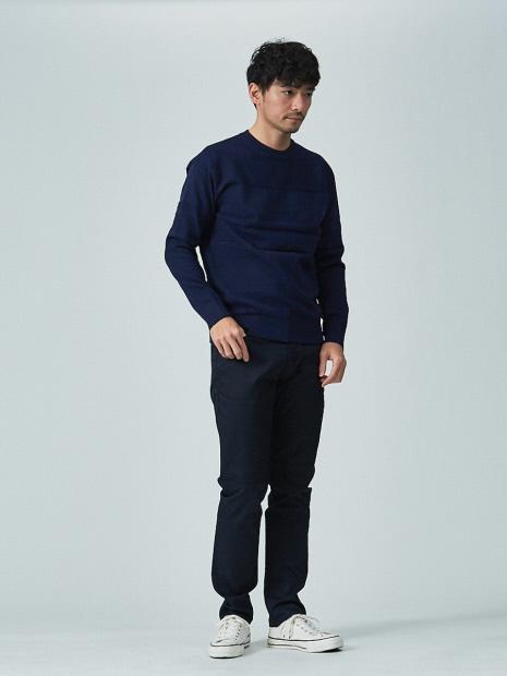 【展開店舗限定】SOLOTEX スリムフィット 5ポケット パンツ