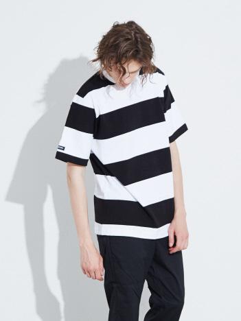 ABAHOUSE - 【BARBARIAN】 8オンス ワイドピッチボーダー半袖Tシャツ