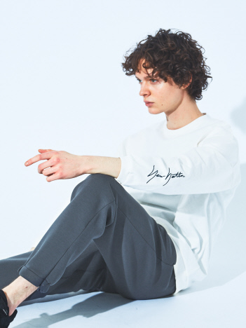ABAHOUSE GRAY - 【別注/NEWHATTAN】ロゴ 袖刺繍 ロング Tシャツ【予約】